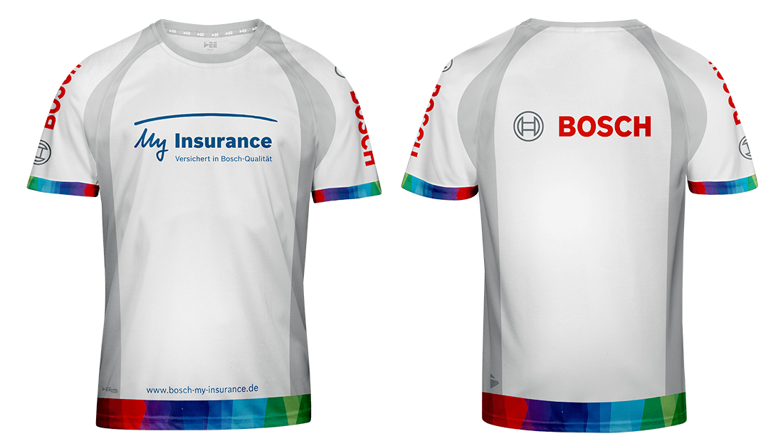 Bosch My Insurance Laufshirt